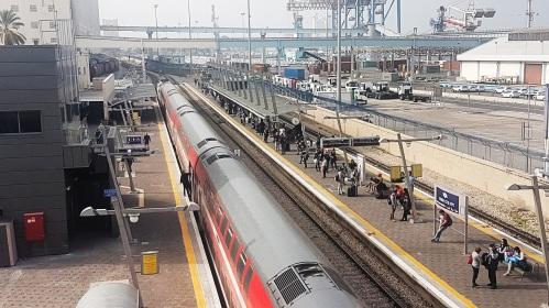 Haifa Port Train Station