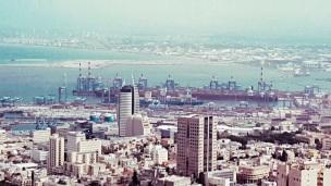Haifa Port zoom in